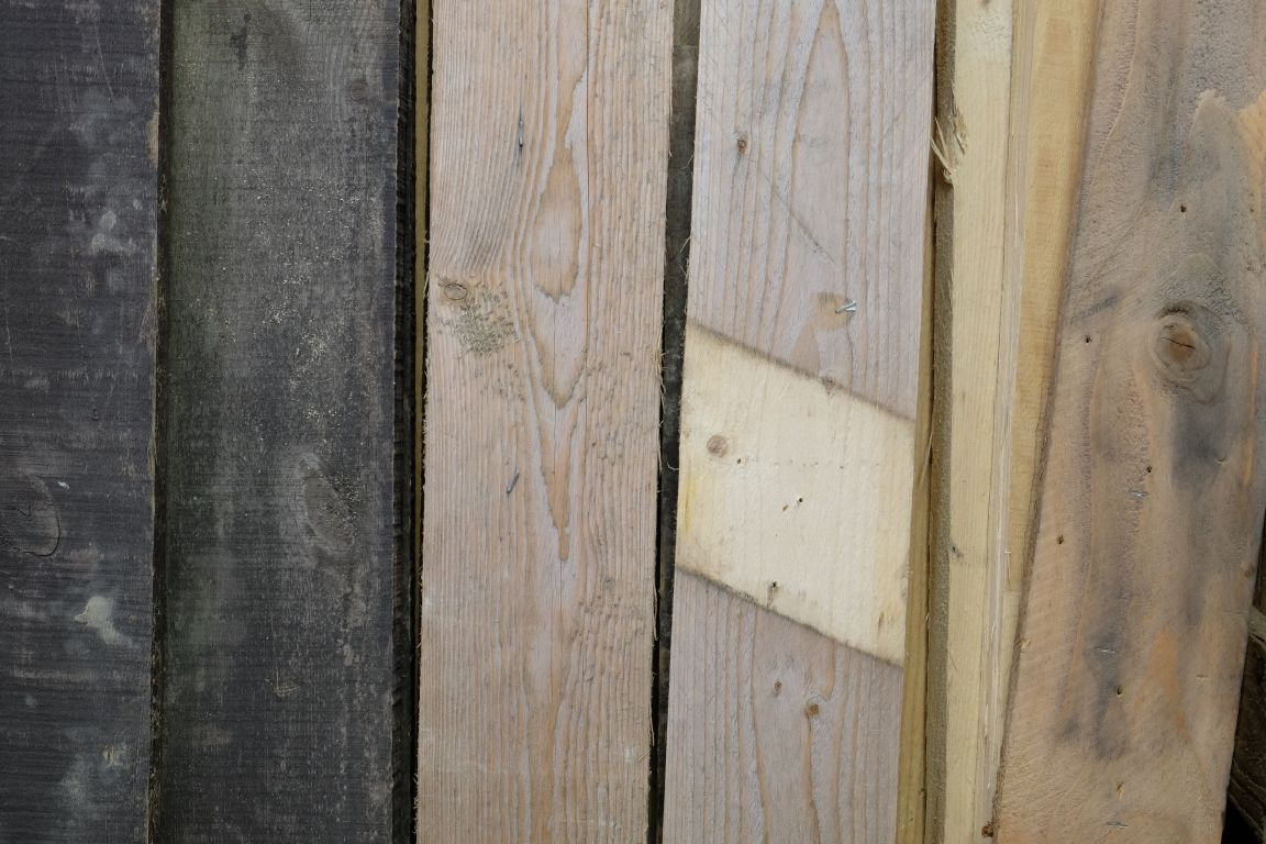 lovely reclaimed timber for sale at the Burton Street shop